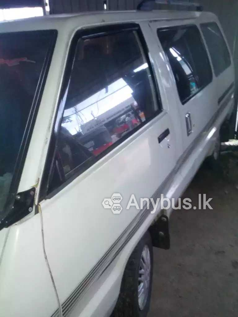Toyota Townace Van for Special Hire Services 07 Seats