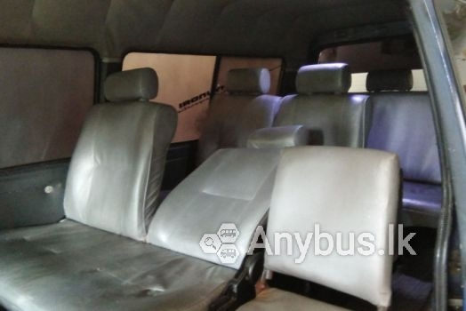 Van for Special hire Services 10 Seats