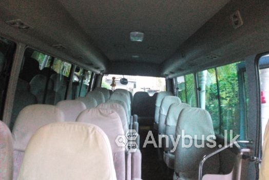 Toyota Coaster Bus for Special Hire Services 29 Seats