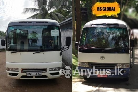 New AC Buses for Hire 29 Seats Piliyandala