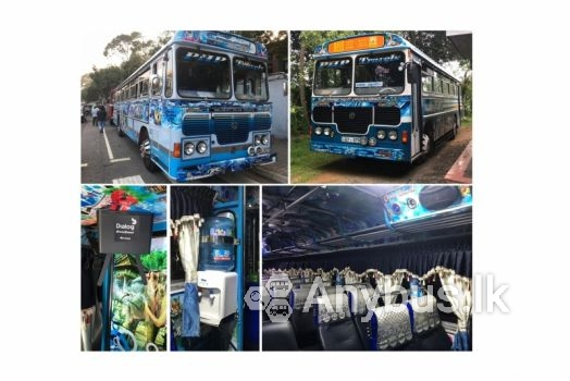 Buses for Special Hire 54 and 42 Seats Hakmana