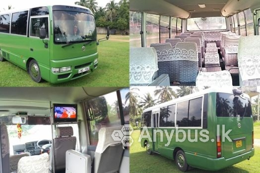 Nissan Civilian New Bus for Special Hire Services 25 Seats - Kirindiwela