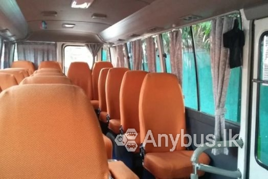 Bus for Special Hire 29 Seats Kirindiwela & Colombo