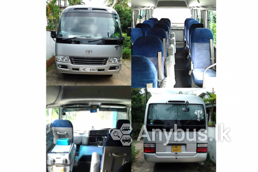 Toyota Coaster Mini Coach Bus for Special Hire  22 Seats Homagama