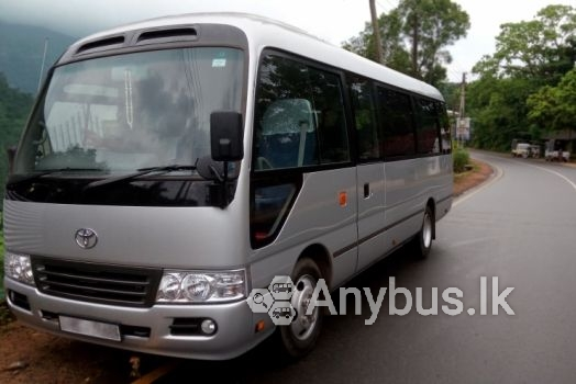 Toyota Coaster (2016) Bus for Hire 27 seats - Padukka