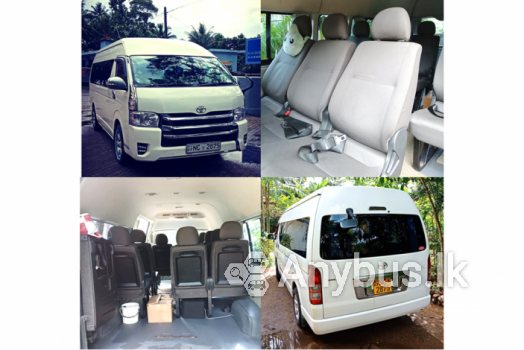 KDH High Roof Van for Special Transport Services 10 Seats -  Kaduwela