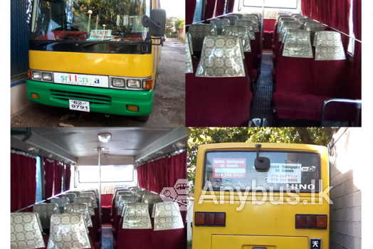 Bus for Special Transport Service 29 Seats -Ganemulla